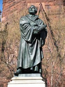 Martin Luther, father of the protestant reformation